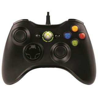 マイクロソフト ゲームコントローラー有線/Xbox/Windows対応 ブラック(PC周辺機器)