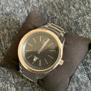 シーケーカルバンクライン(ck Calvin Klein)のぺんぺん800様 電池切れ カルバンクライン 腕時計(腕時計)