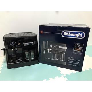 デロンギ(DeLonghi)のデロンギ コンビコーヒーメーカー(BCO410J-B)(コーヒーメーカー)