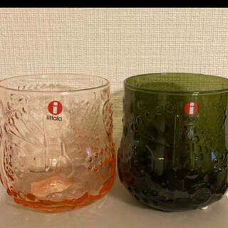 イッタラ(iittala)のイッタラ  フルッタ 二つセット(グラス/カップ)