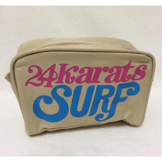 トゥエンティーフォーカラッツ(24karats)の24KARATS SURF セカンドポーチ(ポーチ)