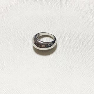 トゥデイフル(TODAYFUL)のぷっくり デザインリング シルバー ニッケルフリー(リング(指輪))