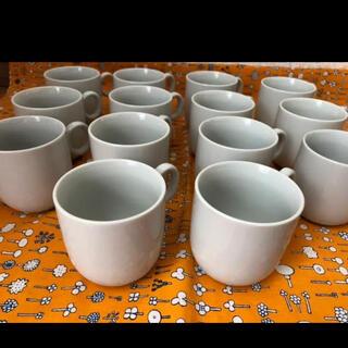 ヤマザキセイパン(山崎製パン)の白いカップ コーヒーカップまとめ売り 10個セット 白い食器 ヤマザキ 好きな方(グラス/カップ)