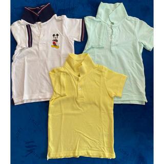 エイチアンドエイチ(H&H)のH&M ベビーポロシャツ3枚セット 1枚訳あり 92センチ(Tシャツ/カットソー)