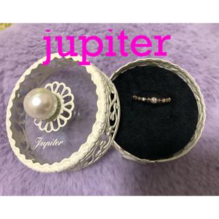 ジュピターゴールドレーベル(jupiter GOLD LABEL)のjupiter  ジュピター 指輪 k10  0.03 リング(9.5〜10号)(リング(指輪))