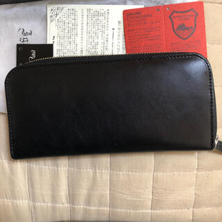 トチギレザー(栃木レザー)の栃木レザー 新品 ブラック(財布)