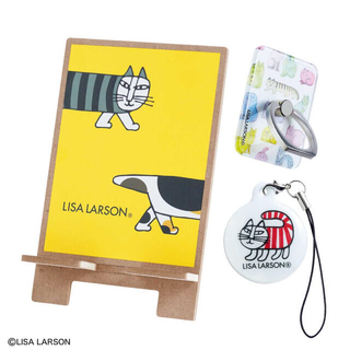 リサラーソン(Lisa Larson)の【GLOW グロー 2021年1月号付録】リサ・ラーソン スマホ3点セット(その他)