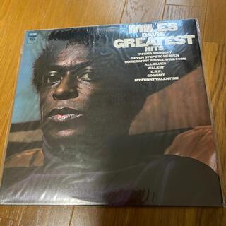 コロンビア(Columbia)のマイルス・デイビス グレイティストヒット レコード(ジャズ)