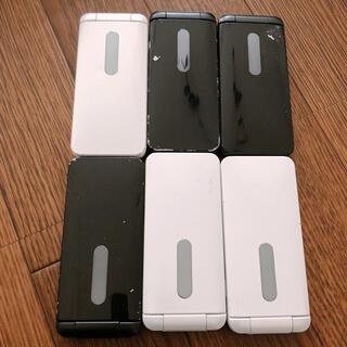 キョウセラ(京セラ)のgratina 4G 黒 白 au(携帯電話本体)