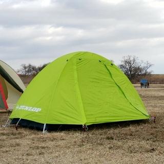 ダンロップ(DUNLOP)のダンロップテント テント R134 1~2人用 (テント/タープ)
