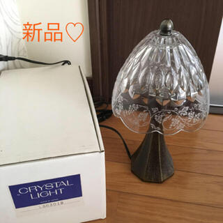 【新品】HOYAクリスタル ガラススタンド(テーブルスタンド)