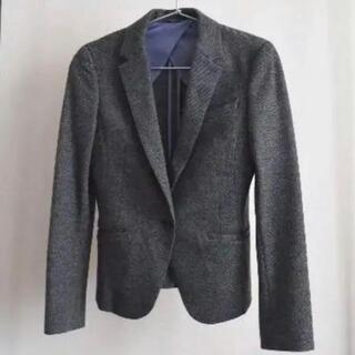 スーツカンパニー(THE SUIT COMPANY)のセレクト レディース  9号 ウールジャケット グレー(テーラードジャケット)
