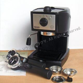 デロンギ(DeLonghi)の美品 デロンギ エスプレッソ・カプチーノメーカー EC152J delonghi(エスプレッソマシン)