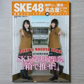 エスケーイーフォーティーエイト(SKE48)の2013 SKE 単独コンサートツアーパンフレット(アイドルグッズ)