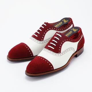 クロケットアンドジョーンズ(Crockett&Jones)の【新品未使用】革靴 ビジネスシューズ スコッチグレイン 1750 w/w(ドレス/ビジネス)