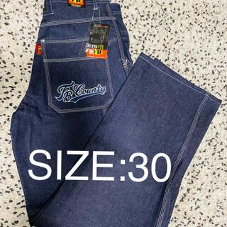 エフビーカウンティ(FB COUNTY)の希少 デッドストック サイズ30 FBCOUNTY  ビッグサイズ 新品タグ付(ワークパンツ/カーゴパンツ)