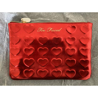Too Faced - 【Too Faced】コスメポーチ ハート(新品・未使用)