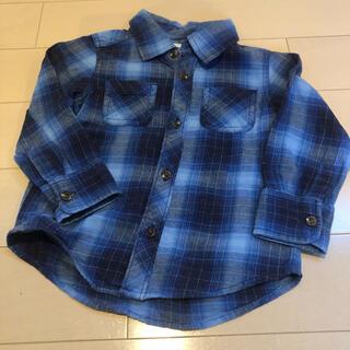 オールドネイビー(Old Navy)の2T オールドネイビー チェックシャツ(Tシャツ/カットソー)