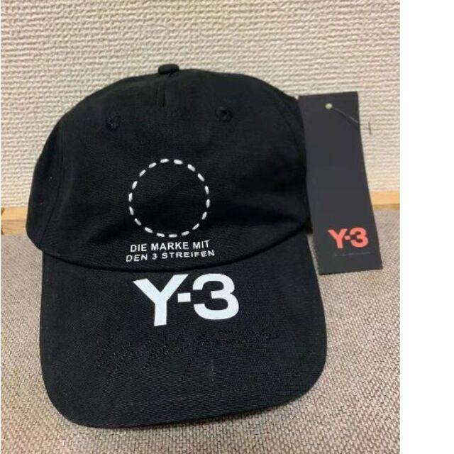 Y-3(ワイスリー)のy-3 ロゴキャップ ネイビー メンズの帽子(キャップ)の商品写真