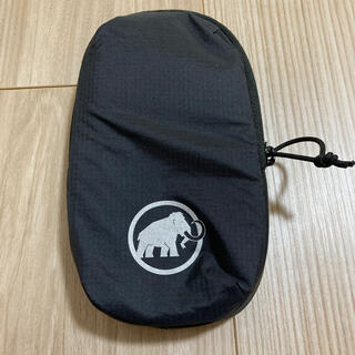マムート(Mammut)のMAMMUT アドオン ショルダー ハーネス ポケット Mサイズ ブラック(登山用品)