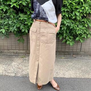 ジャーナルスタンダード(JOURNAL STANDARD)の韓国ブランド カーゴスカート ワークスカート (ロングスカート)