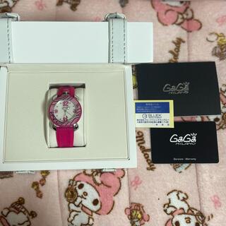ガガミラノ(GaGa MILANO)のガガミラノ 腕時計 アナログ ピンク(腕時計)