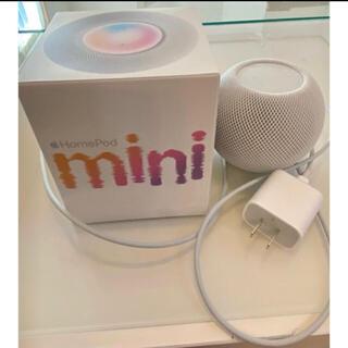 アップル(Apple)のApple HomePod mini ホワイト(スピーカー)