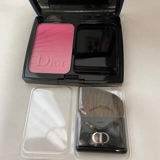 クリスチャンディオール(Christian Dior)の新品未使用定価6千円 ディオール ブラッシュ001 ピンク シフト(チーク)