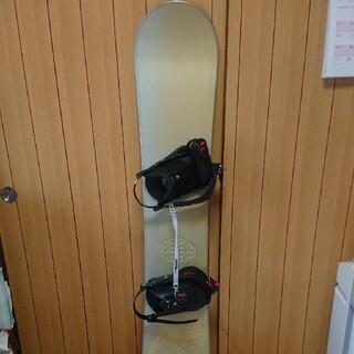 ロシニョール(ROSSIGNOL)の美品 スノーボード 板 140 ビンディング ロシニョール rossigol(ボード)