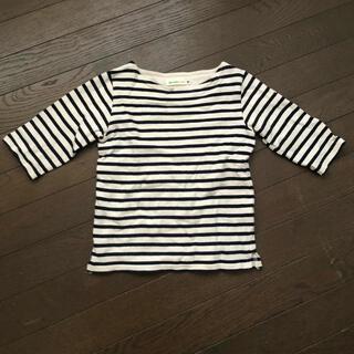 コドモビームス(こどもビームス)のBEAMSmini ビームスミニ美品ボーダーTシャツ110(Tシャツ/カットソー)