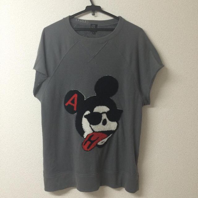 HALFMAN(ハーフマン)の偽ミッキー? レディースのトップス(Tシャツ(半袖/袖なし))の商品写真