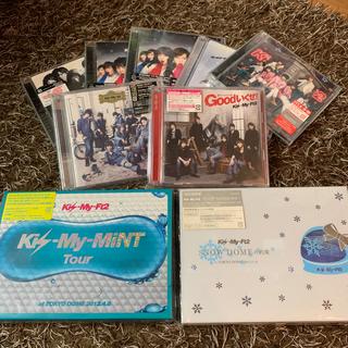 キスマイフットツー(Kis-My-Ft2)のKis-My-Ft2 シングル、アルバム、コンサートDVD(アイドルグッズ)