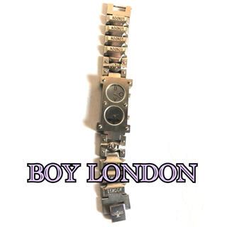 ボーイロンドン(Boy London)のBOY LONDON ボーイロンドン 腕時計 ダブルフェイス 電池切れ(腕時計)