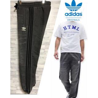 アディダス(adidas)のadidas  アディダス  オリジナルス フレンチテリー ブラックデニムパンツ(デニム/ジーンズ)