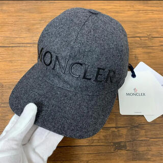 MONCLER - 【新品未使用タグ付き】モンクレール キャップ