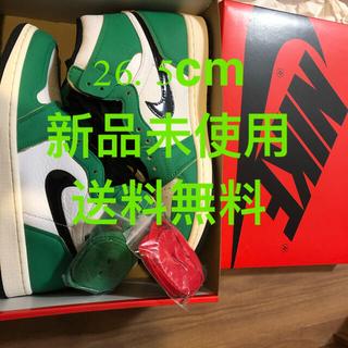 ナイキ(NIKE)の26.5cm Nike Air Jordan 1 Lucky Green(スニーカー)