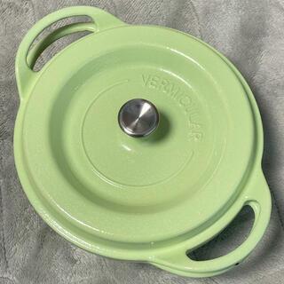 バーミキュラ(Vermicular)のバーミキュラ オーブンポット 18cm グリーン(鍋/フライパン)