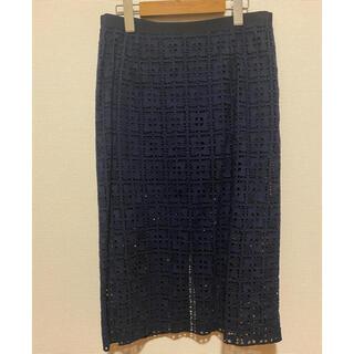 サカイラック(sacai luck)のsacai luck レーススカート サイズ2 サカイラック(ロングスカート)