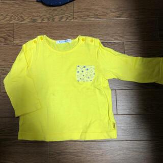 ファミリア(familiar)のfamiliar ファミリア80cm 黄色Tシャッツ(Tシャツ)