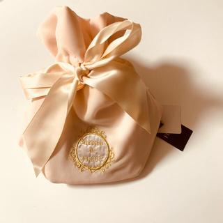 メゾンドフルール(Maison de FLEUR)の新品 メゾンドフルール 巾着シフォンポーチ(ポーチ)