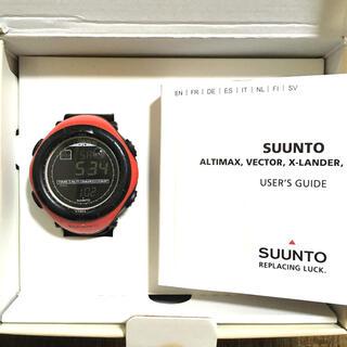 スント(SUUNTO)のsuunto RED vector  腕時計(腕時計(デジタル))