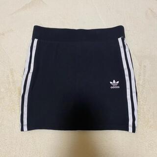 アディダス(adidas)のadidas オリジナルス スカート[3 STRIPES SKIRT](ミニスカート)