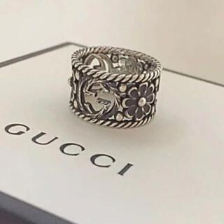 Gucci - 最終値下げ早い者勝ち GUCCI インターロッキングG シルバーリング