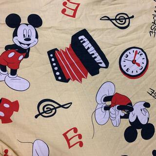 ディズニー(Disney)のレトロミッキー柄ボックスシーツ2枚組(シーツ/カバー)