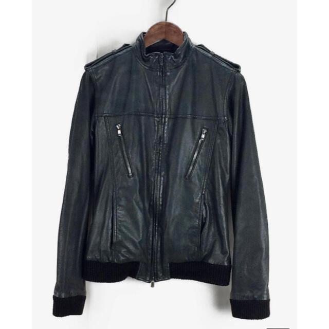 AMERICAN RAG CIE(アメリカンラグシー)のAMERICAN RAG CIE ラムレザーブルゾン  メンズのジャケット/アウター(レザージャケット)の商品写真
