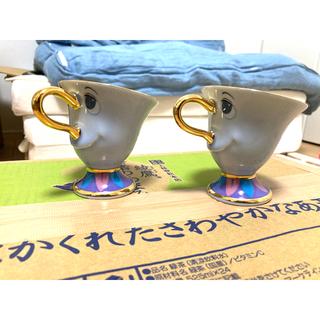 ビジョトヤジュウ(美女と野獣)の美女と野獣 チップくん☆ティーカップ2個セット(食器)