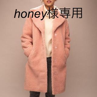 ユナイテッドアローズ(UNITED ARROWS)の美品[STAND]コート(毛皮/ファーコート)