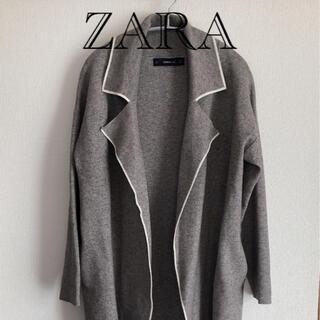 ザラ(ZARA)のZARA ニットコート(ニットコート)
