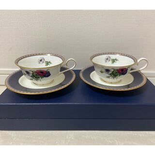 【未使用】MIKASA ボーンチャイナ カップ&ソーサー