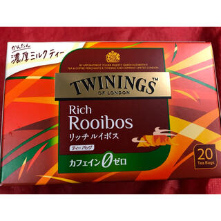 トワイニング リッチルイボスティー20入り 送料別のおまとめ時単価380円(健康茶)